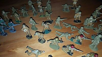 1 :32 model soldiers mostly british.