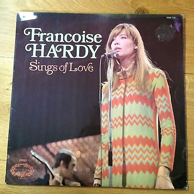 FRANCOISE HARDY  SINGS OF LOVE Hallmark A1B1 UK LP GOOD CONDITION