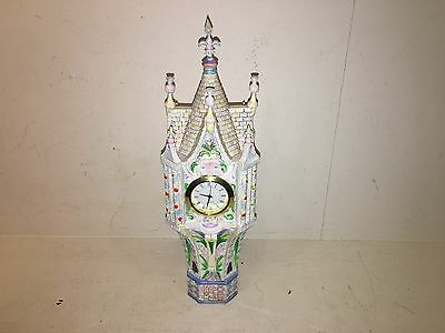 Rare Jim Shore Enesco Disney Showcase Cinderellas Fairytale Castle Clock 4007217