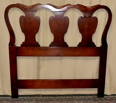 STATTON OLD TOWNE TWIN HEADBOARD Chippendale Style Single VINTAGE