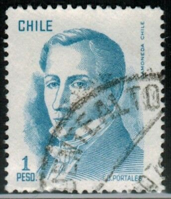 Chile Postmark cancelled PUENTE ALTO