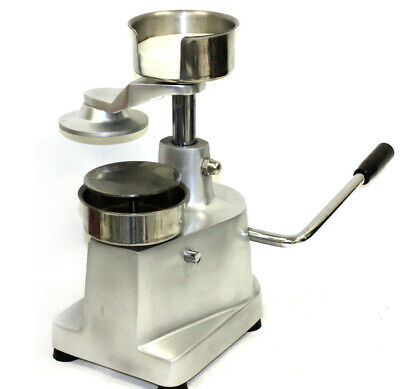 Stainless Manual Hamburger Press  Patty Molding Machine for Deli Home kitchen