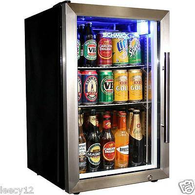 New Bar Fridge - Glass Door, Tropical, Schmick, 68 Litres, Alfresco, Left Hinge