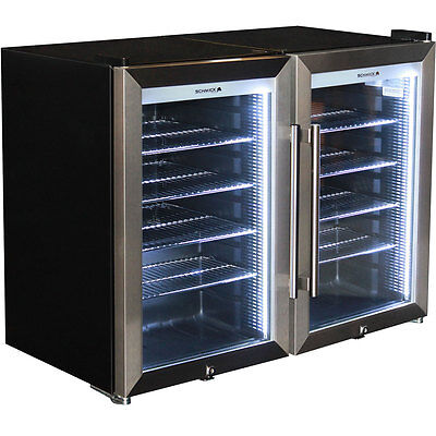 Brand New Schmick Bar Fridge - Triple Glazed Tropical Outdoor Alfresco