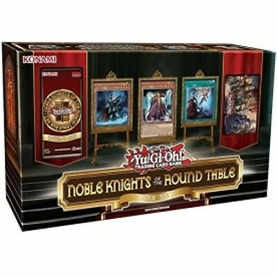 Yu-Gi-Oh! TCG Noble Knights Of The Round Table Box Set Brand New