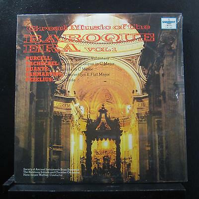 Hans Walther - Great Music Of The Baroque Era Vol 1 LP New Sealed SUM 1042