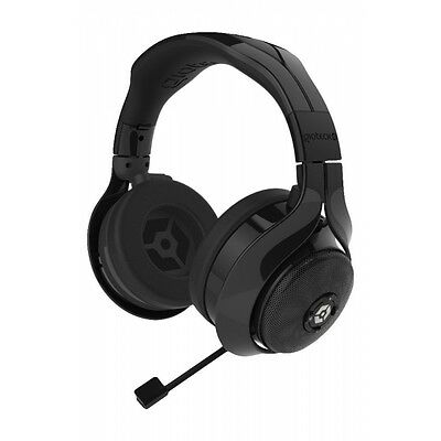 Gioteck FL 300 Wired Stereo Headset with Removable Bluetooth Speakers -Black(PS4
