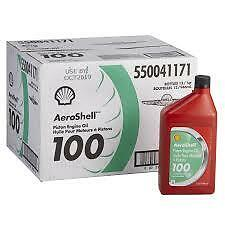 Aeroshell 100 Mineral Oil  - 12 Quart Box