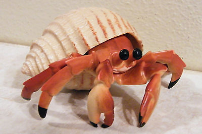 HERMIT CRAB FIGURINE Made of Hard Plastic QUALITY MADE