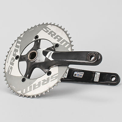 Stages Power Meter Rival Crank Arm Sram Force 172.5mm Road Bike Crankset 53/39T