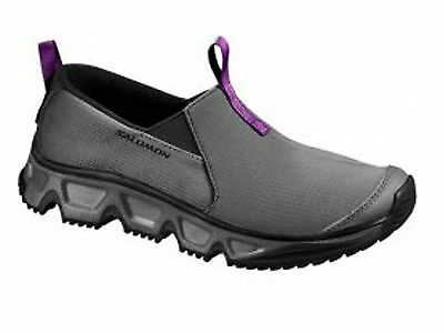 Scarpe Donna Salomon  111359 Rx Snow Moc Black/purple