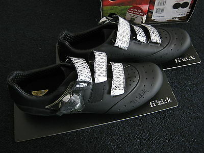 Fizik R1 racing carbon shoes black with kangaroo leather