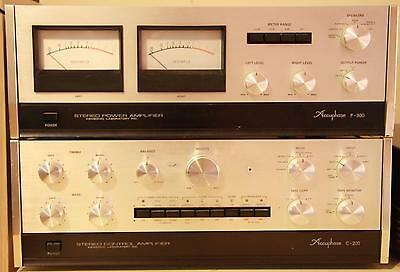 Accuphase Vintage Hifi Combo - P300 Amplifier & C200 Pre-Amplifier