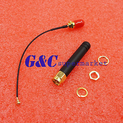 NEW IPEX Connector Antenna for GPRS SIM GSM SIM800L Wireless Module