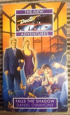 Dr Who book Falls The Shadow Virgin New Adventures 7th Doctor Daniel O'Mahony