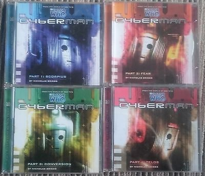 Cyberman CD's Series 1 Big Finish Doctor Dr Who