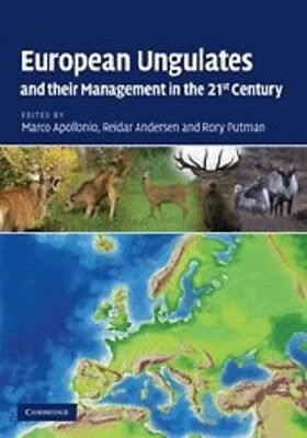 European Ungulates and their Management in the 21st Century, , Very Good conditi
