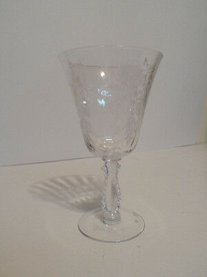 "Fostoria Heather pattern 6 1/4"" Goblet"