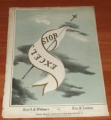 Victorian Sheet Music..excelsior.