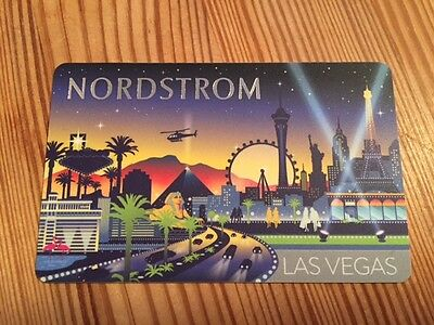 "NORDSTROM ""LAS VEGAS"" Gift Card - New No Value"