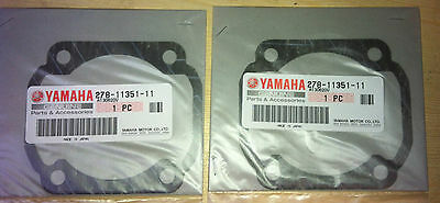 Genuine Yamaha Rd250Lc  Rd400  Ds7  R5  Td3  Rd350Lc  Base Gaskets  278-11351-11
