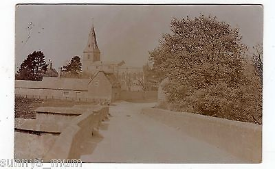 Huntingdonshire, Wansford, Church And Street Scene, Rp
