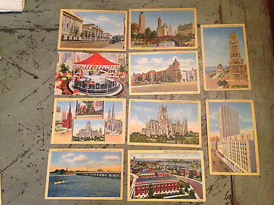 9 Post Card USA United States NEW YORK The TIMES BUILDING Américain/carte postal