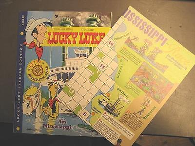 Lucky Luke # 20 Special Edition - Am Mississippi - Inclusive Mississippi Spiel
