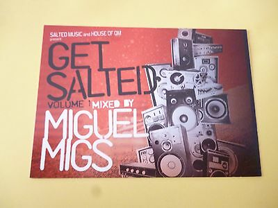 Miguel Migs Get Salted Volume 1 Promotional/advertising Postcard