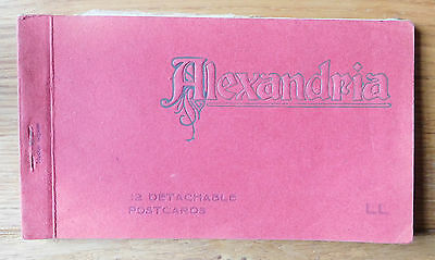 Egypt Post Card Booklet-12 cards of Alexandria