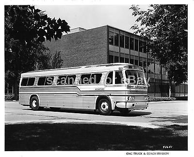 Gm Pd-4106 Bus Factory Photo General Motors Gmc Sun Valley Bus Lines