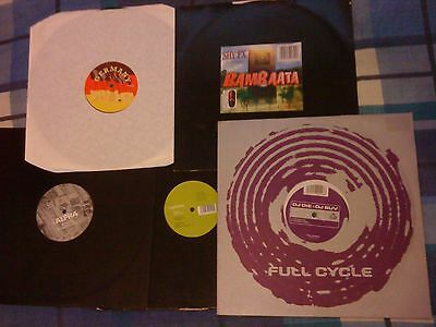 Job Lot Old Skool Drum & Bass Jungle Record Collection 5 Vinyl Bundle