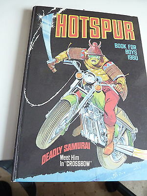 Vintage Collectable Annual- Hotspur Book For Boys 1980 Hardback