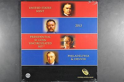 2013 P&D Presidential $1 coin uncirculated set * UN-opened