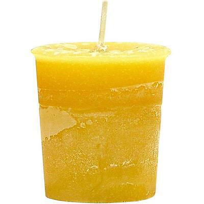 Crystal Journey Candles Reiki Charged Votive CONFIDENCE Candle!