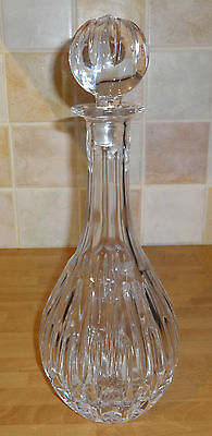 Royal Doulton - Crystal Cut Glass - Tall Decanter Avon Pattern