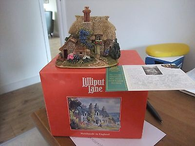A Beautiful Lilliput Lane Cottage Cider Apple Cottage L2043 1997 C C  Series