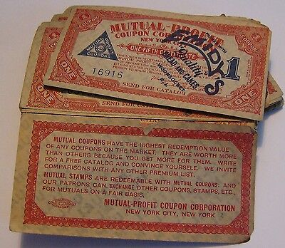 Large Lot Of Mutual Profit Coupons Emidy's Bread and Cakes Woonsocket RI