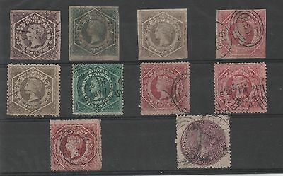 New South Wales - 10 Timbres Xix° Siecle