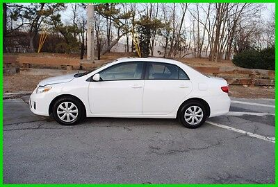 2011 Toyota Corolla LE Moonroof Bluetooth AT 55,801 Miles Repairable Rebuildable Salvage Wrecked Runs Drives EZ Project Needs Fix Save Big