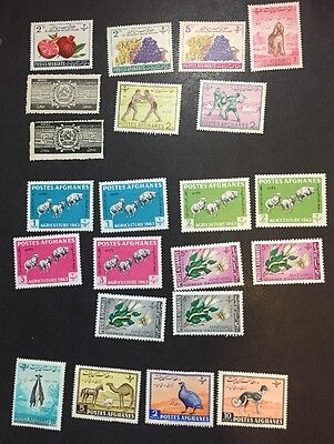 TgStamp: Afghanistan Stamps - MH And MNG