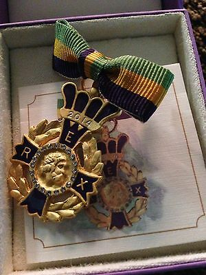 Rex 2014 Lady's Ducal New Orleans Mardi Gras Krewe Favor Pin