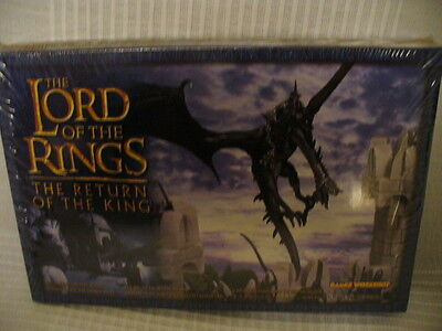 Games Workshop Lord Of The Rings Return Of The King Witch-King On Fell Beast