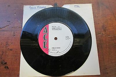 Pink And Black Sonny Fisher On Ace Records Rockabilly