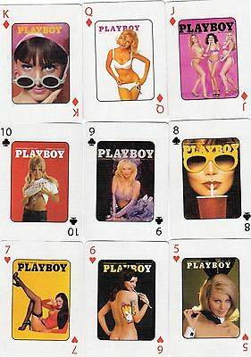 """SUPERB PACK of RARE """"Lovely Ladies - Playboy Presstoplay"""" Playing Cards"""