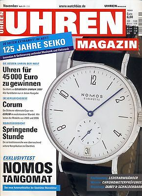 Uhren Magazin November 11/2006