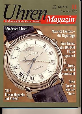 Uhren Magazin November 11/1992