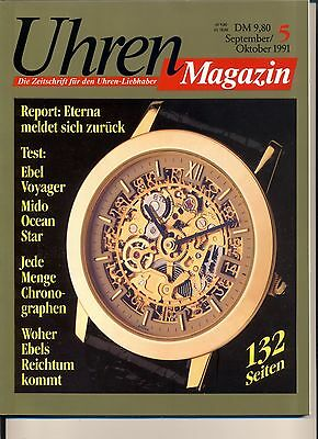 Uhren Magazin September/Oktober 5/1991