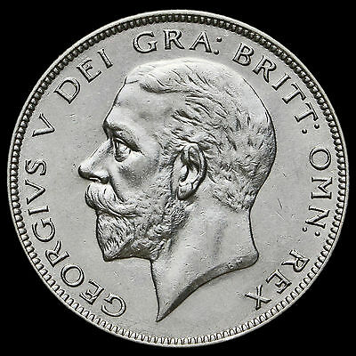 1933 George V Silver Half Crown – Scarce