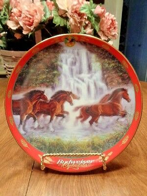 """Budweiser Clydesdales  """"RACING THE FALLS""""   limited-edition A2169  2000   11417"""